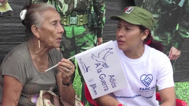 Colombia's leftist FARC rebel force declares its disarmament complete after half a century of war against the state bringing an end to Latin...