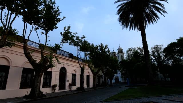 colonia del sacramento, uruguay - colonial style stock videos & royalty-free footage