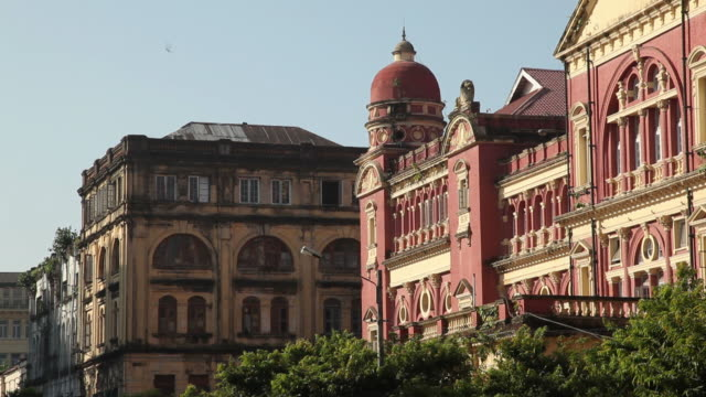 WS Colonial building / Rangoon, Yangon, Myanmar