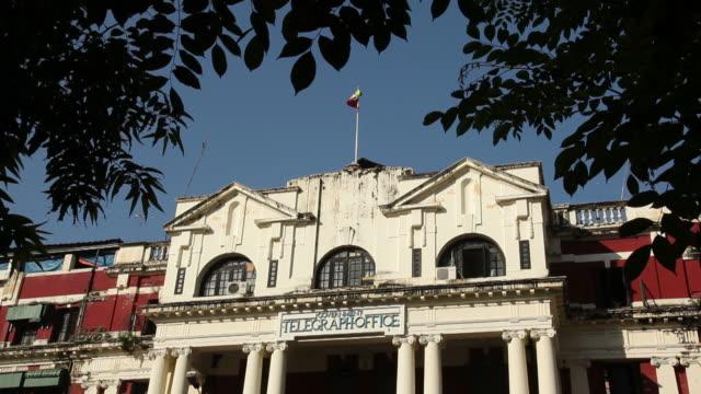 MS LA Colonial building / Rangoon, Yangon, Myanmar