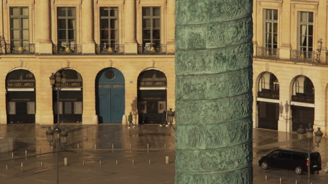 stockvideo's en b-roll-footage met colonne vendôme - colonne vendome