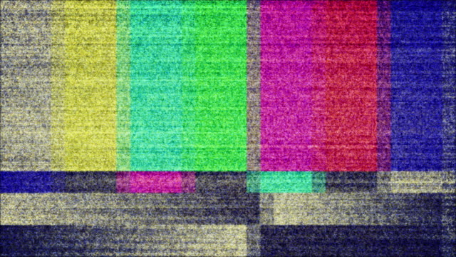 TV Color Bars Test Screen