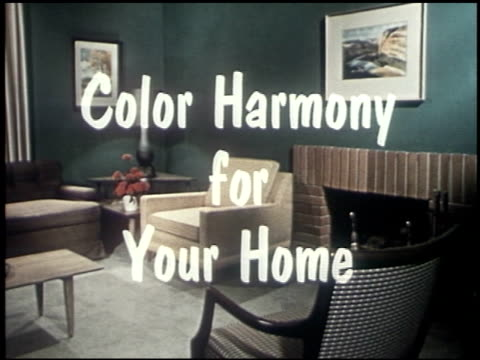 color harmony for your home - 1 of 19 - open house stock videos & royalty-free footage