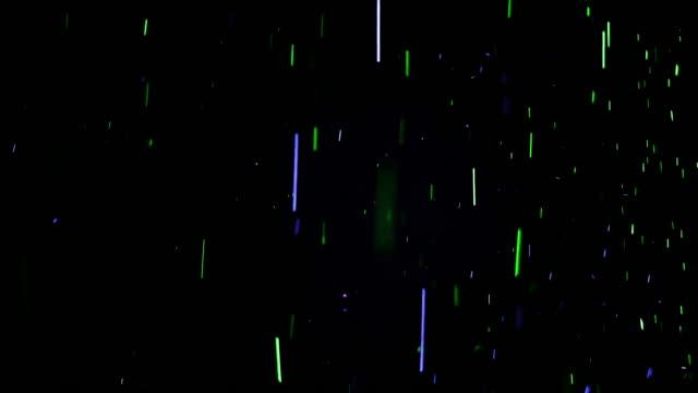 farbpartikel (ein mischmodus hinzufügen, bildschirm kann verwendet werden, um den hintergrund zu entfernen) - spezialeffekt stock-videos und b-roll-filmmaterial