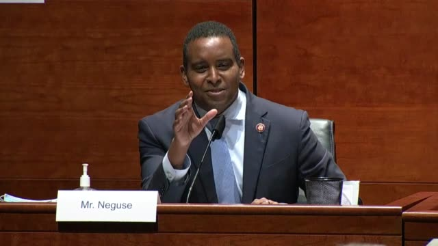 colorado congressman joe neguse questions attorney general bill barr at a house judiciary committee oversight hearing about 2019 statements that the... - chromosome stock videos & royalty-free footage