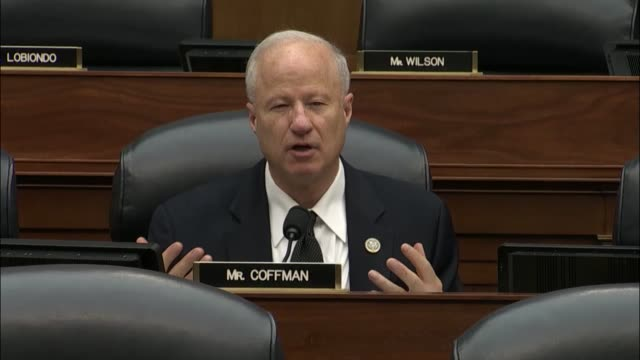 Colorado Congressman Mike Coffman asks United States command Admiral Harry Harris about joint military exercises conducted with South Korea Harris...