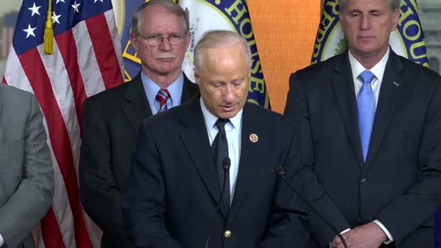 Colorado Congressman Mike Coffman says at a news conference after House passage of the STOP School Violence Act that representing families in...