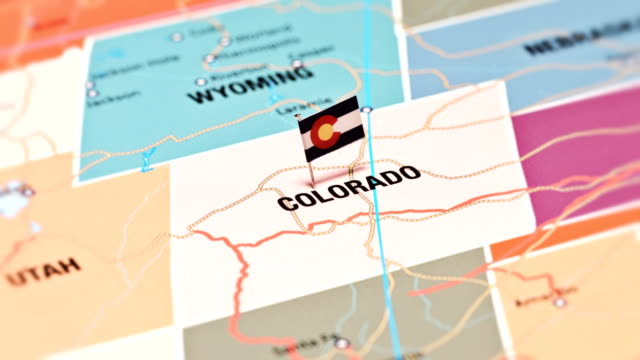 colorado from usa states - colorado stock videos & royalty-free footage