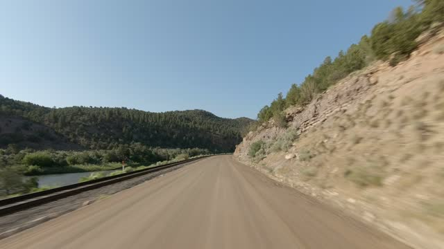 colorado river 4 synced series front summer driving - number 4 stock videos & royalty-free footage