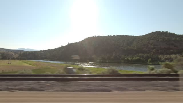 colorado river 4 synced series left summer driving - number 4 stock videos & royalty-free footage