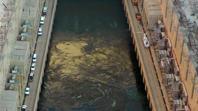 colorado river - hydroelektrisk kraft bildbanksvideor och videomaterial från bakom kulisserna