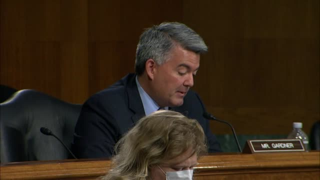 colorado senator cory gardner informs secretary of state mike pompeo at a senate foreign relations committee hearing about work on shaping policy... - newly industrialized country stock videos & royalty-free footage