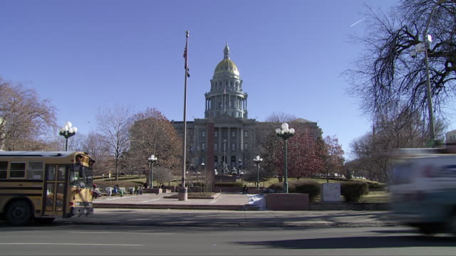 colorado state capitol (denver - usa) - 長点の映像素材/bロール