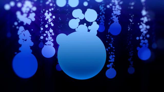 Farbige Blasen Hintergrund