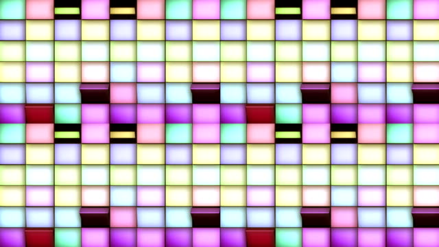 Colored cubes - background (LOOP)
