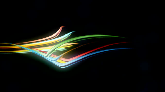 colored lines - light effect stock videos and b-roll footage
