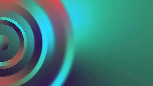 4k colored rotating circle, ring, point loopable - coloured background stock videos & royalty-free footage