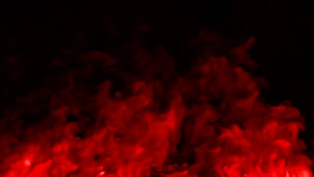 vidéos et rushes de fond de fumée coloré - vidéo de stock - red