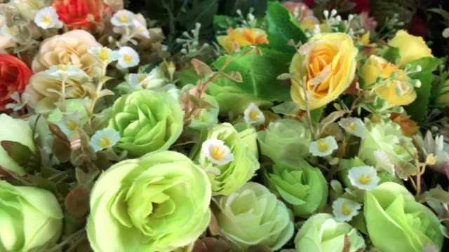 colorful abstract background of flowers - formal garden stock videos & royalty-free footage