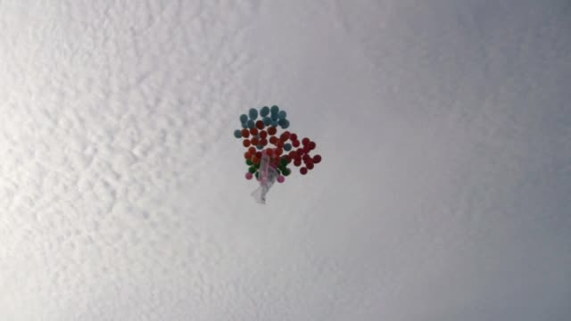 colorful balloon - float stock videos & royalty-free footage
