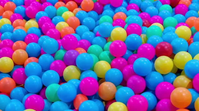 カラフルなボール - 球形点の映像素材/bロール