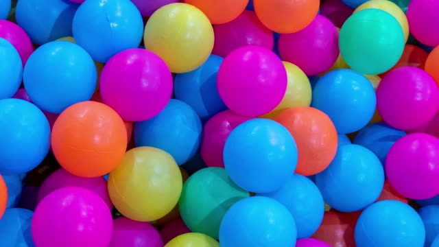 colorful balls - large group of objects stock videos & royalty-free footage