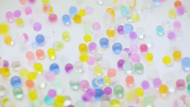 colorful balls - marble stock videos & royalty-free footage