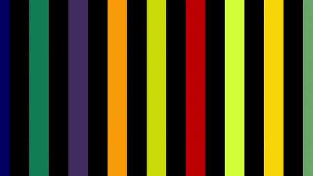 bunt blinkende linien nahtloser hintergrund - parallele geometrie stock-videos und b-roll-filmmaterial