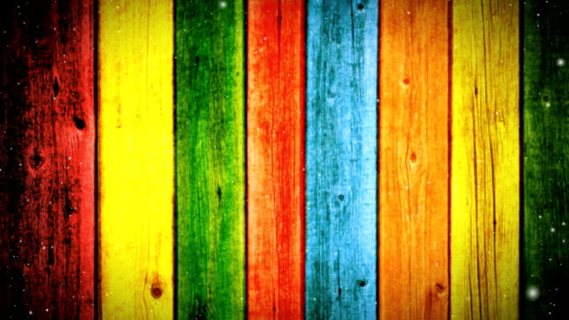 colorful boards background - agritourism stock videos & royalty-free footage
