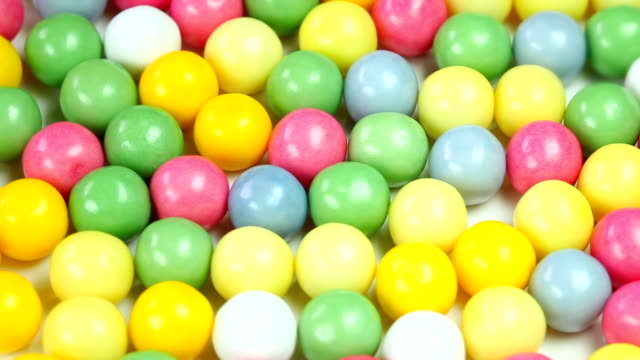 colorful bubble gum - bubble gum stock videos & royalty-free footage
