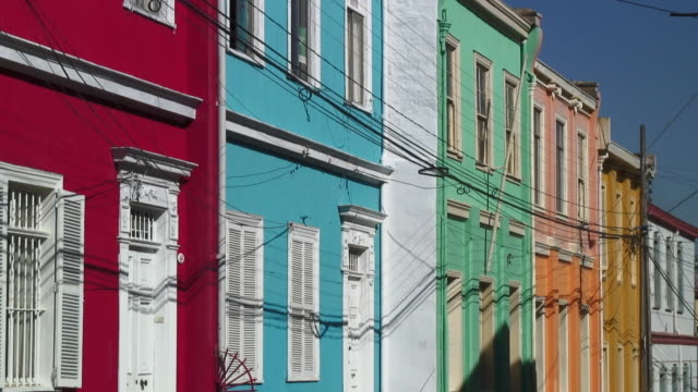 MS Colorful buildings / Valparaiso, Chile
