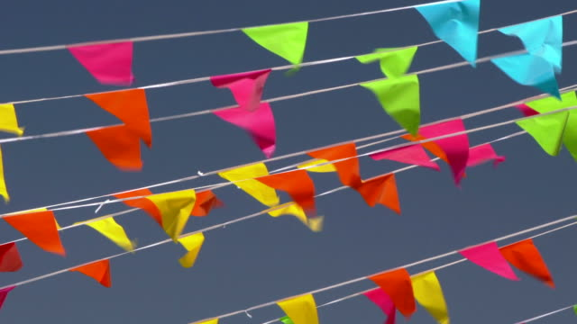 PS Colorful bunting