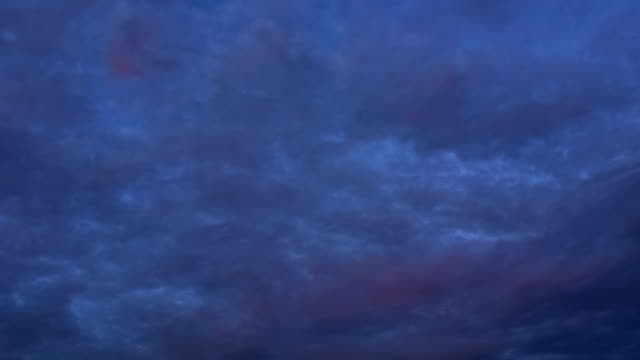 colorful clouds on dramatic sunset sky - ontario canada stock videos & royalty-free footage