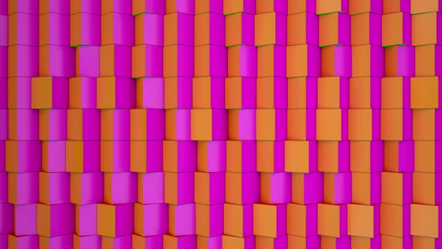colorful cubes - square stock videos & royalty-free footage