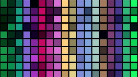 stockvideo's en b-roll-footage met kleurrijke dansen neon pleinen-loop achtergrond animatie 4k uhd - vj