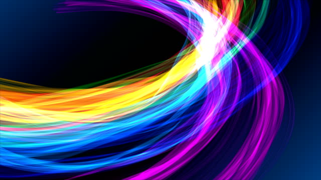 vídeos y material grabado en eventos de stock de cintas de colores distorsionados orígenes - doblado actividad física