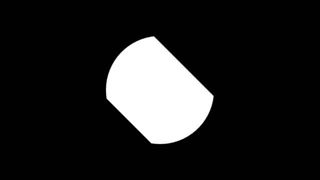 färgglad dynamik vacker shockwave vätska rörelse effekt avslöjar cirkel märke med alfa matt kanal för att placera din text eller logotyp. 3d-rendering animation. 4k, ultra hd-upplösning - tvådimensionell form bildbanksvideor och videomaterial från bakom kulisserna