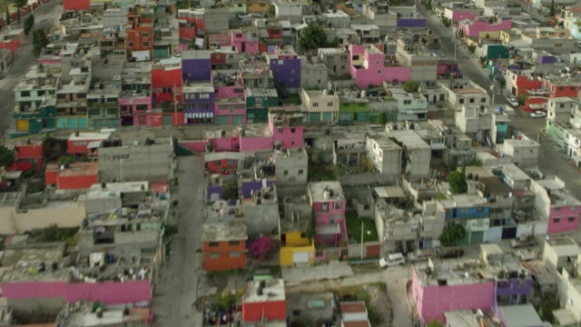 Colorful Ecatepec de Morelos Neighborhood