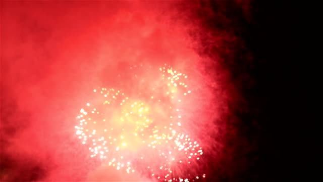 hd: colorful fireworks new year - circa 4th century stock videos & royalty-free footage
