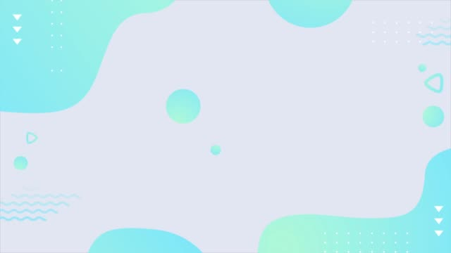 colorful geometric background, covers with minimal design, fluid shapes composition. - poster layout stock videos & royalty-free footage