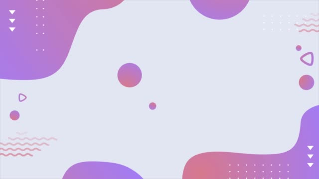 colorful geometric background, covers with minimal design, fluid shapes composition. - simplicity stock videos & royalty-free footage