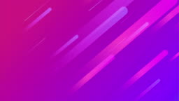 Colorful geometric background. Dynamic shapes loop animation. Geometric pattern.