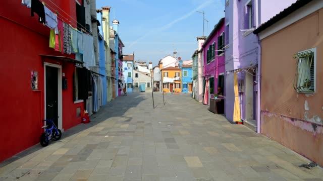 Colorful houses in Burano, Burano, Venice, Venetian Lagoon, Veneto, Italy