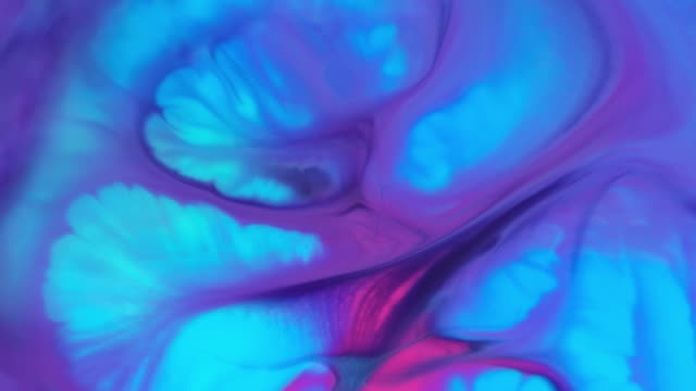 colorful ink movements - marbled effect stock videos & royalty-free footage