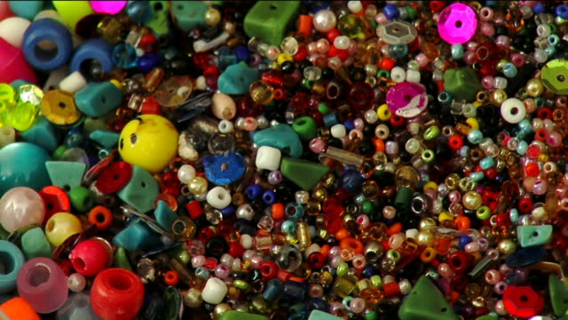 Colorful jewelry beads