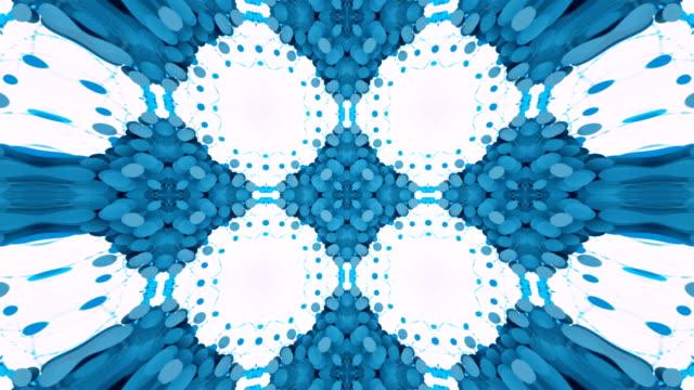 色とりどりの万華鏡 4 k - 目が回る点の映像素材/bロール