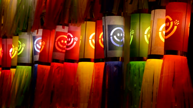 colorful lanterns - tassel stock videos & royalty-free footage