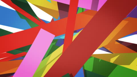 vídeos y material grabado en eventos de stock de líneas coloridas - arte