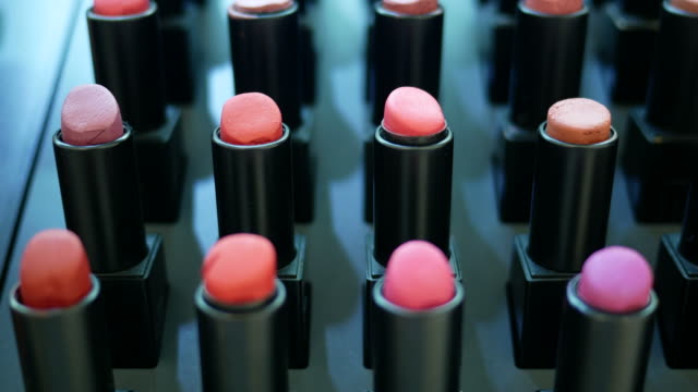 colorful lipsticks - make up stock videos & royalty-free footage