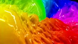 Colorful Liquid Paint